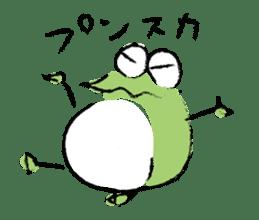 Mr. Ikeda and Johnny frog. sticker #1041916
