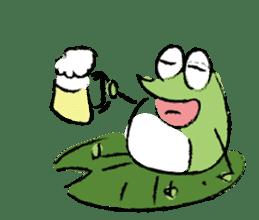 Mr. Ikeda and Johnny frog. sticker #1041920
