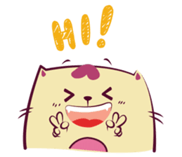 Hello Meow Meow!! Merry Xmas sticker #1042203