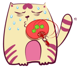Hello Meow Meow!! Merry Xmas sticker #1042233