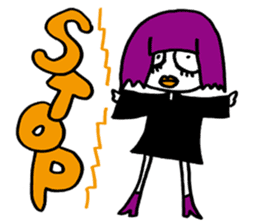 Little Magic Of Goth Beth sticker #1042256