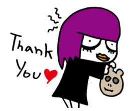 Little Magic Of Goth Beth sticker #1042261