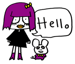 Little Magic Of Goth Beth sticker #1042265