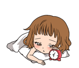 """StampGirl """"Daily Life"""" English edition sticker #1043053"""