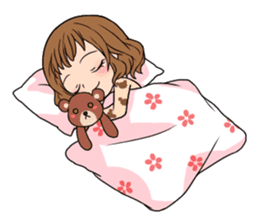 """StampGirl """"Daily Life"""" English edition sticker #1043054"""