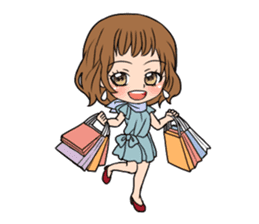 "StampGirl ""Daily Life"" English edition sticker #1043065"