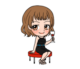 """StampGirl """"Daily Life"""" English edition sticker #1043079"""