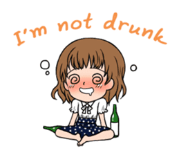 """StampGirl """"Daily Life"""" English edition sticker #1043080"""