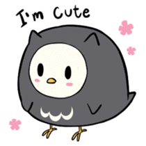 I am a cute owl [EN] sticker #1043522