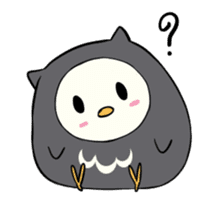 I am a cute owl [EN] sticker #1043524