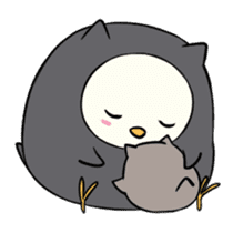 I am a cute owl [EN] sticker #1043528
