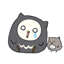 I am a cute owl [EN] sticker #1043531