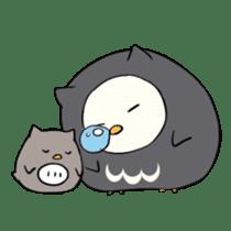 I am a cute owl [EN] sticker #1043534