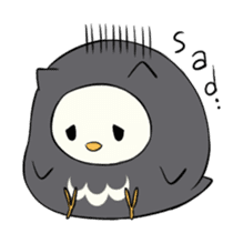 I am a cute owl [EN] sticker #1043537