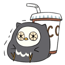 I am a cute owl [EN] sticker #1043538