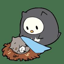 I am a cute owl [EN] sticker #1043540