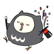 I am a cute owl [EN] sticker #1043542