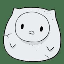 I am a cute owl [EN] sticker #1043546