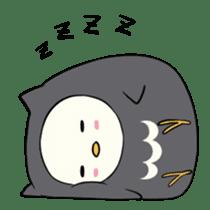 I am a cute owl [EN] sticker #1043548