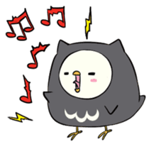 I am a cute owl [EN] sticker #1043549
