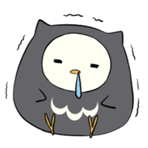 I am a cute owl [EN] sticker #1043553