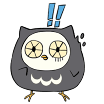 I am a cute owl [EN] sticker #1043558