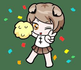 Fugui The Cat (Nekomimi) English Version sticker #1043729