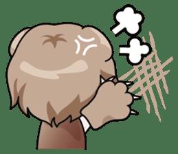 Fugui The Cat (Nekomimi) English Version sticker #1043735