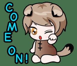 Fugui The Cat (Nekomimi) English Version sticker #1043749