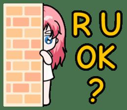 Fugui The Cat (Nekomimi) English Version sticker #1043752