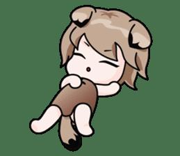 Fugui The Cat (Nekomimi) English Version sticker #1043756