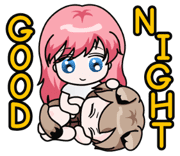 Fugui The Cat (Nekomimi) English Version sticker #1043759