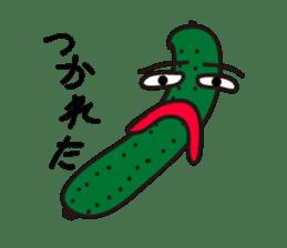 Cucumber His name Q-Ree sticker #1044803