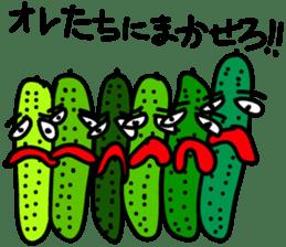 Cucumber His name Q-Ree sticker #1044805