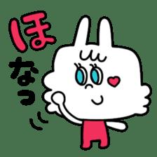 Cute rabbit BANITAN sticker #1045082