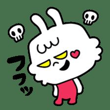Cute rabbit BANITAN sticker #1045098