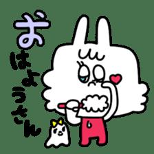 Cute rabbit BANITAN sticker #1045104