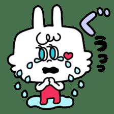 Cute rabbit BANITAN sticker #1045108