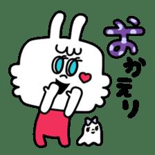 Cute rabbit BANITAN sticker #1045112