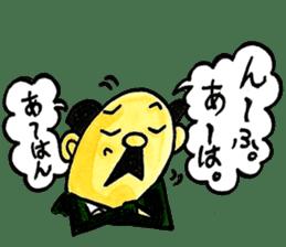Uncle Sakai fromAMAGASAKI with mustache. sticker #1045494
