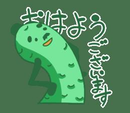 Vegetables gentleman sticker #1046344