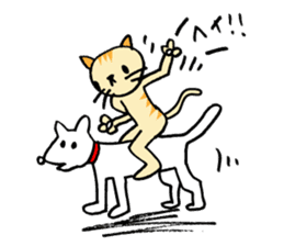 CAT CAN TELL sticker #1046529