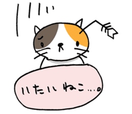 CAT CAN TELL sticker #1046532