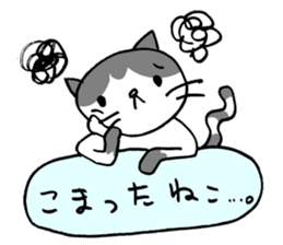 CAT CAN TELL sticker #1046540