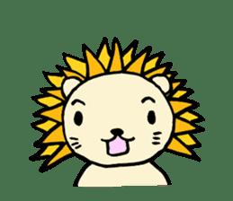 Herbivore Lion sticker #1047642