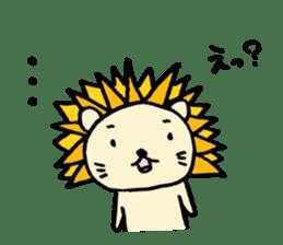 Herbivore Lion sticker #1047648