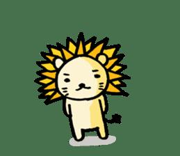 Herbivore Lion sticker #1047650
