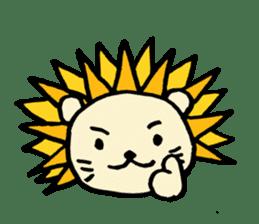 Herbivore Lion sticker #1047651