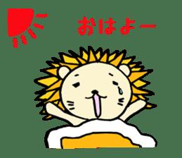 Herbivore Lion sticker #1047654