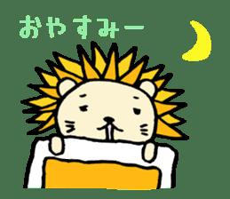 Herbivore Lion sticker #1047655